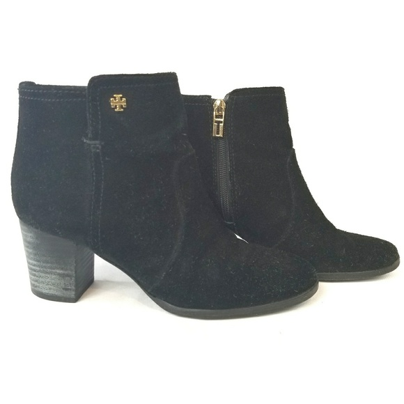 c737b787258768 Tory Burch Sabe Black Suede Leather Chelsea Boots.  M 5aca76e56bf5a65b8ed94643